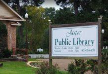 Jasper Public Library , http://jaspertx.com/